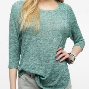 UO Sparkle & Fade, Blue & Green Sweater